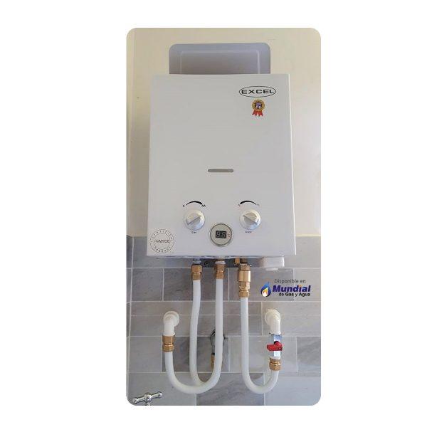 Calentador Excel Cobremax instalación