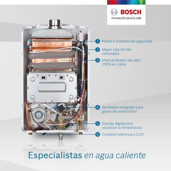Calentador Bosch 12 Litros serpentin