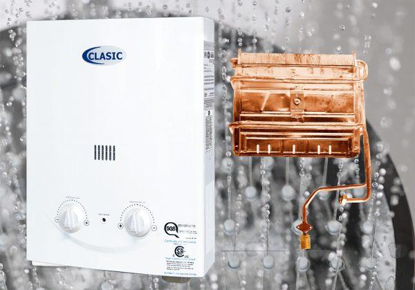 Calentador Clasic agua caliente