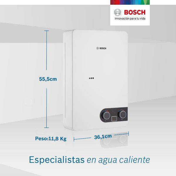 Bosch 12 litros medidas
