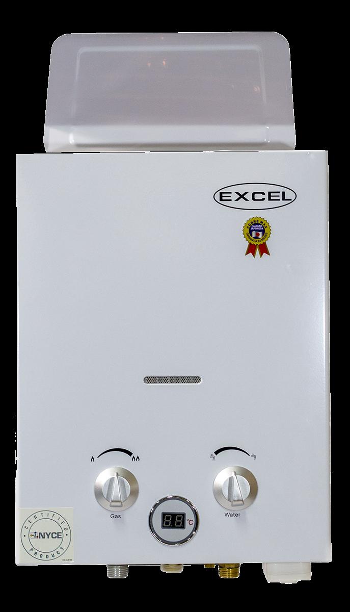 Calentador de paso Excel 5.5 litros