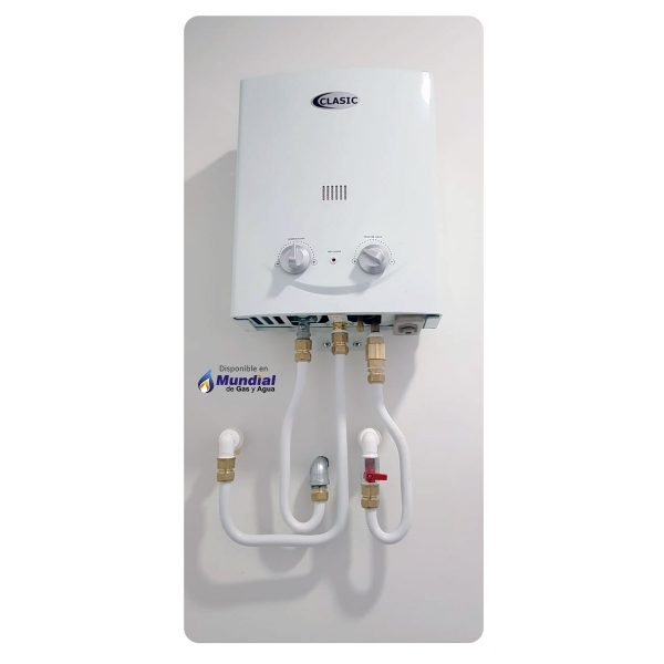 calentador Clasic instalación