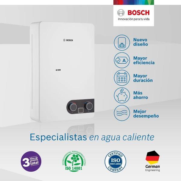 Bosch 12 litros Garantía